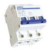 Автоматические выключатели DZ47-63 3P