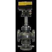 Клапан регулирующий трехходовой КР-1-ТР