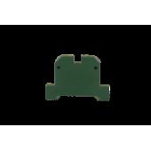 Клеммник ЕК 2,5/35(yellow-green)